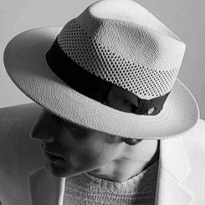Sombrero panamá de hombre jipijapa