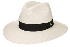 Sombrero panamá color blanco