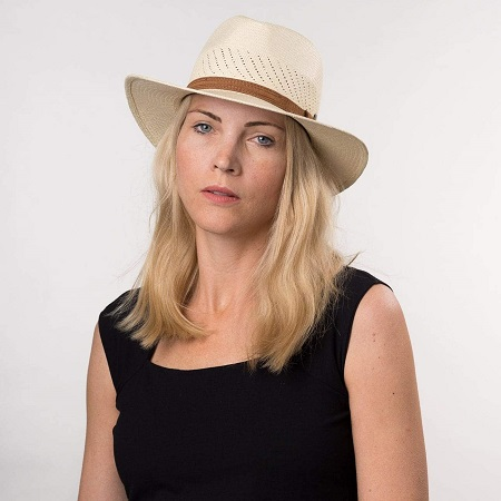 Sombrero panama Air mujer